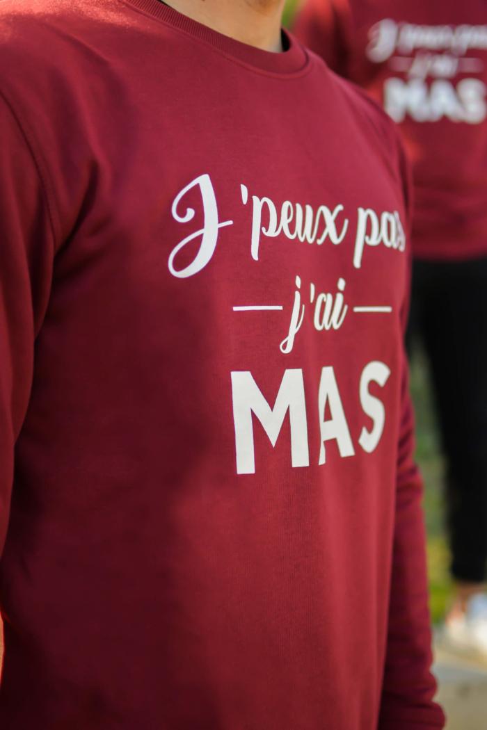 """logo """"j'peux pas j'ai Mas"""" boutique mas du cheval"""