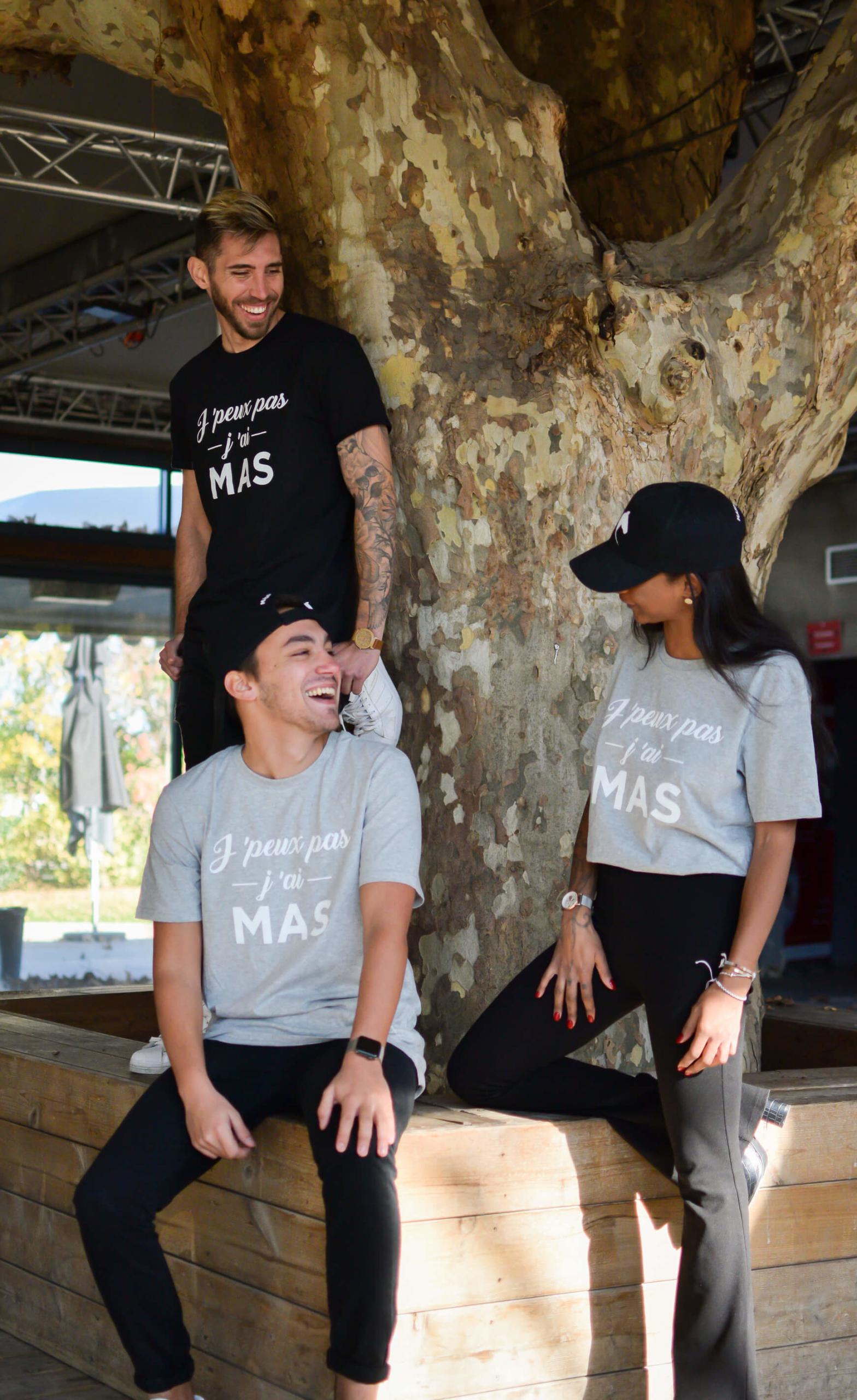 """produits """"j'peux pas j'ai Mas"""" boutique officielle"""